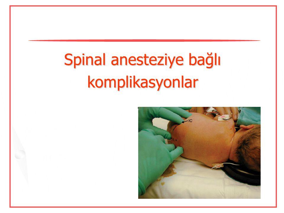 Yüksek basınçlı enjeksiyonlar Normal – anormal direnç ?  Anestezistler sıklıkla >20 psi'nin üzerinde basınç uygulamaktadırlar. Claudio R, et al. Reg