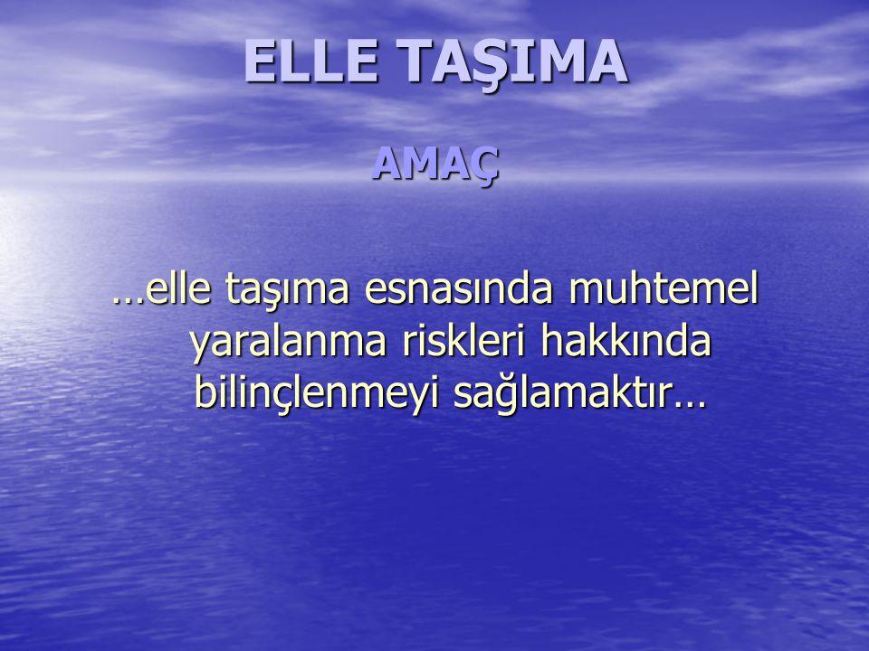 ELLE TAŞIMA
