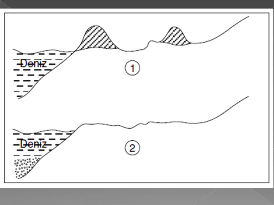 Peri bacalarının oluşumunda sel sularının etkisi oldukça fazladır.