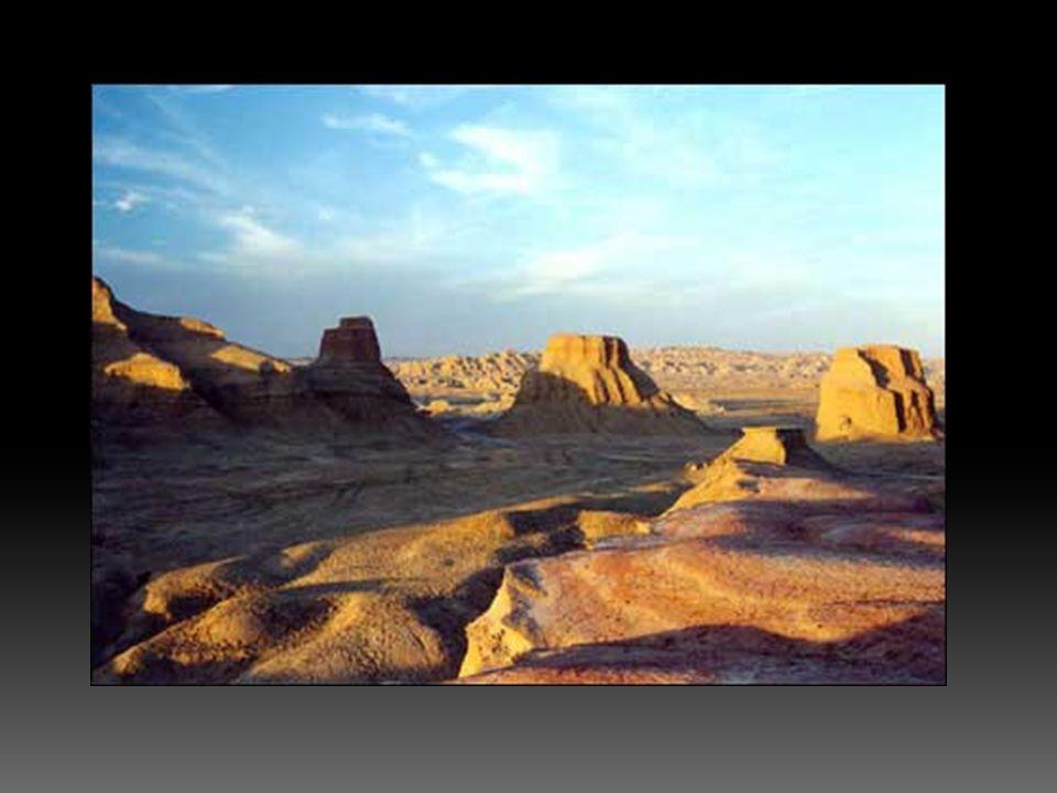  Bir yamaçta kayalar arasındaki çözülmüş maddelerin uzaklaştırılması ile oluşmuş şekillerdir.