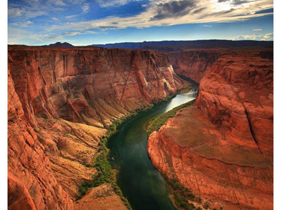 D ü nyanın en b ü y ü k kanyonu ABD ' de Colorado kanyonudur.