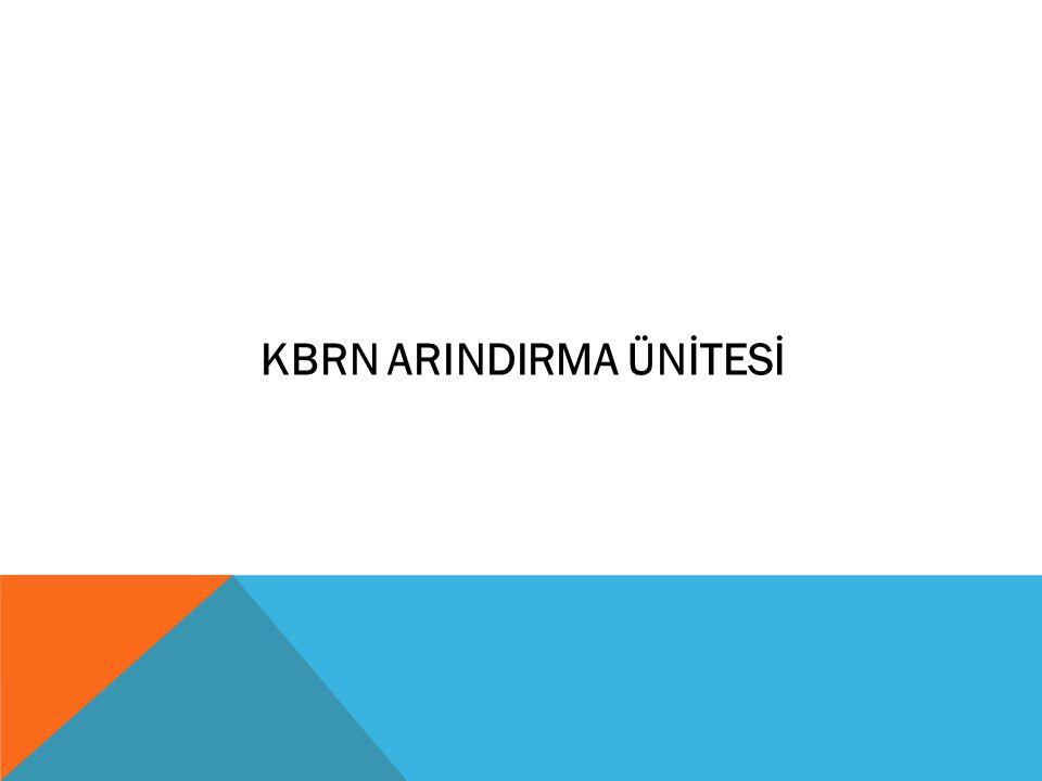 KBRN ARINDIRMA ÜNİTESİ