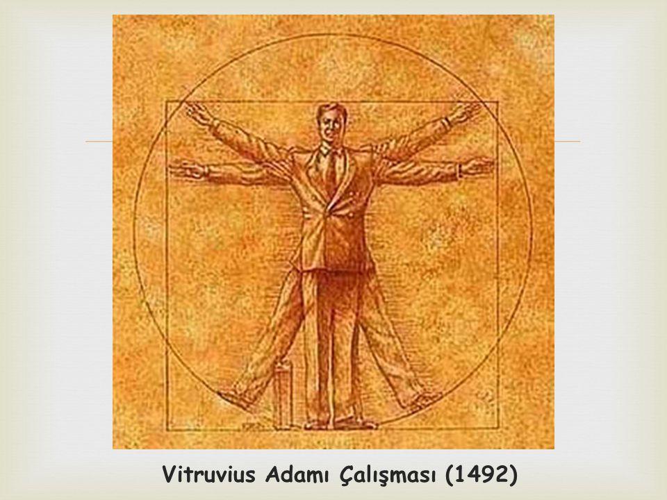  Vitruvius Adamı Çalışması (1492)