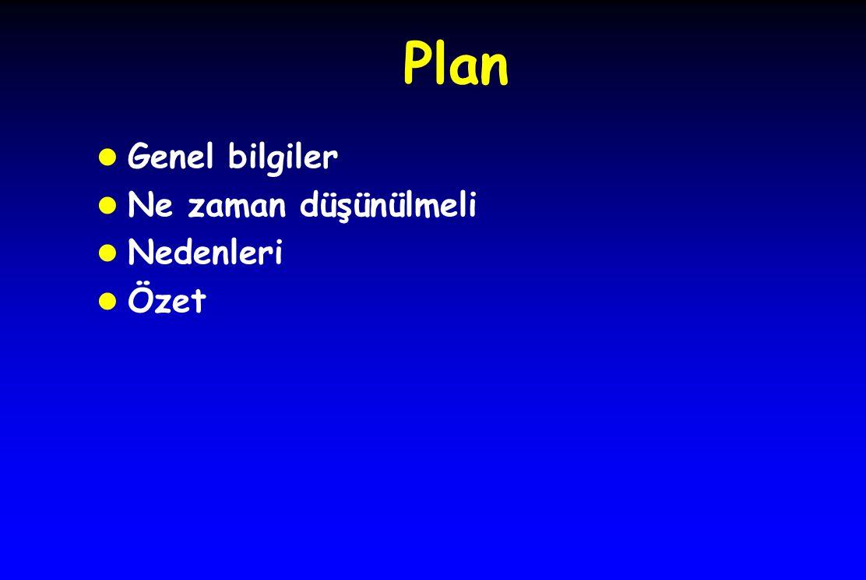 Plan l Genel bilgiler l Ne zaman düşünülmeli l Nedenleri l Özet