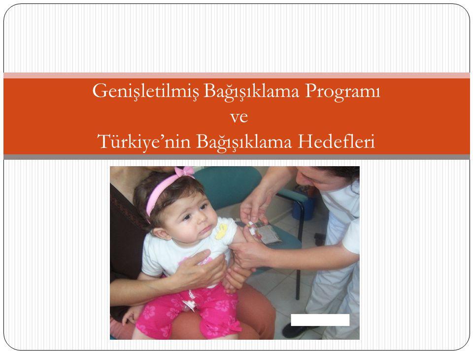 Dünya'da her yıl yaklaşık iki milyon çocuk aşı ile korunulabilen hastalıklar nedeniyle ölmektedir.