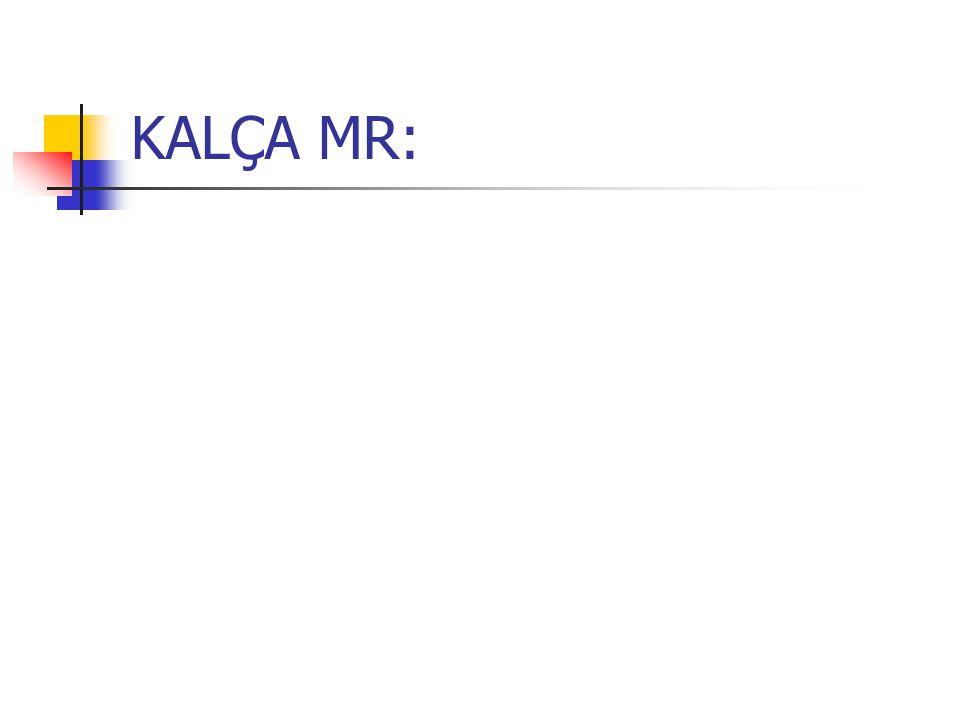 KALÇA MR:
