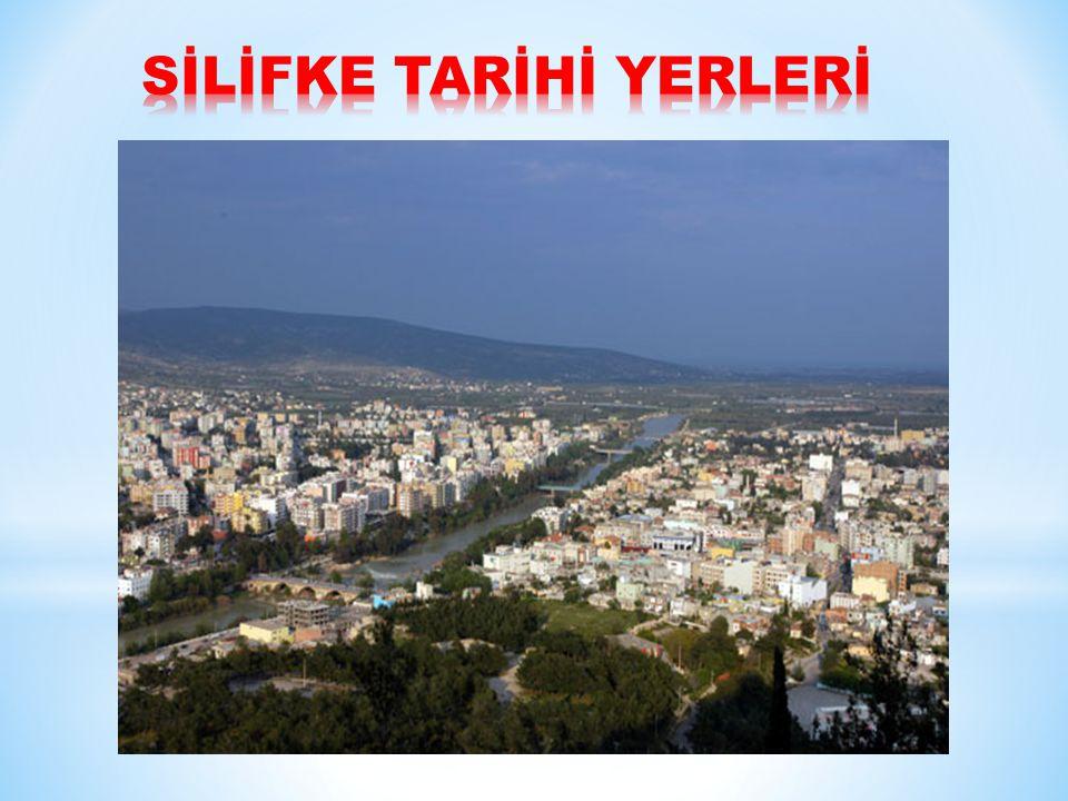 ADAM KAYALAR Kızkalesi nden Silifke nin Hüseyinler Köyü ne giden asfalt yolun 5.