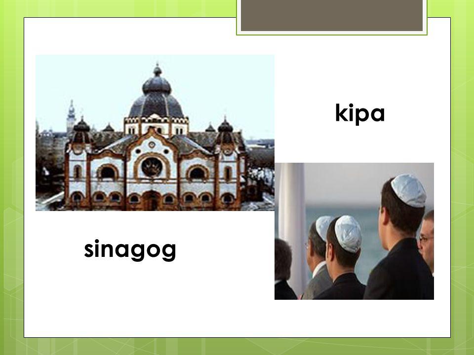 sinagog kipa