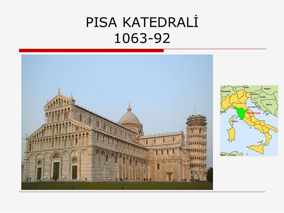 PISA KATEDRALİ 1063-92