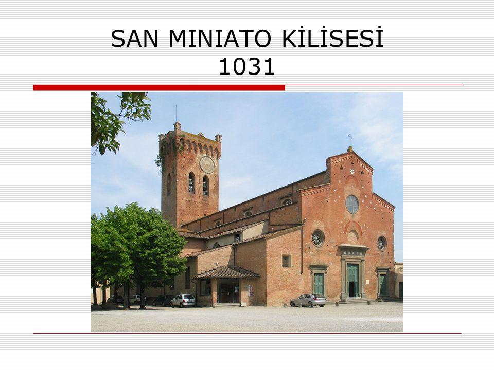 SAN MINIATO KİLİSESİ 1031