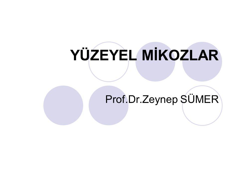 YÜZEYEL MİKOZLAR Prof.Dr.Zeynep SÜMER