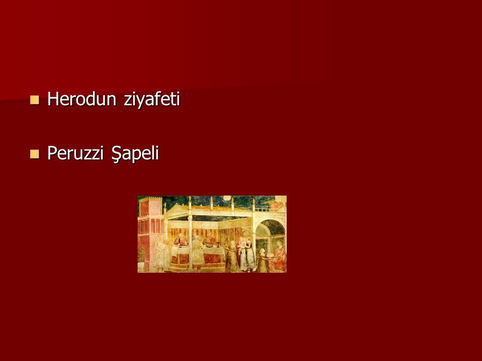 Herodun ziyafeti Herodun ziyafeti Peruzzi Şapeli Peruzzi Şapeli