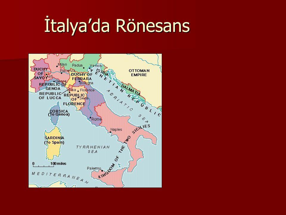 İtalya'da Rönesans