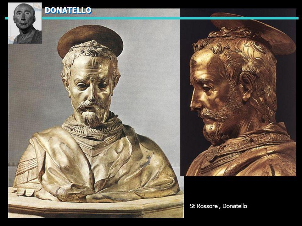 St Rossore, Donatello