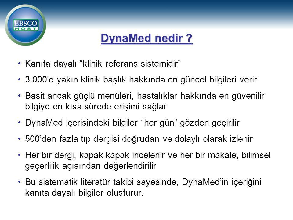 DynaMed nedir .