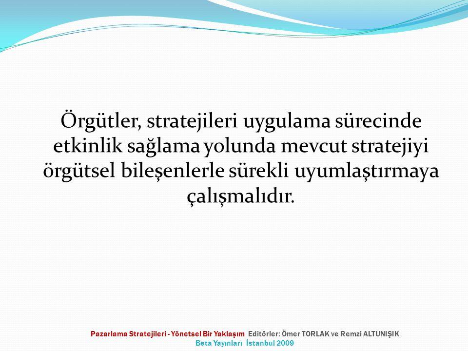 İşletme düzeyinde sinerji yaratmak, etkinlik ve tutarlık sağlamak üzere stratejilere yön veren bir sistemdir.