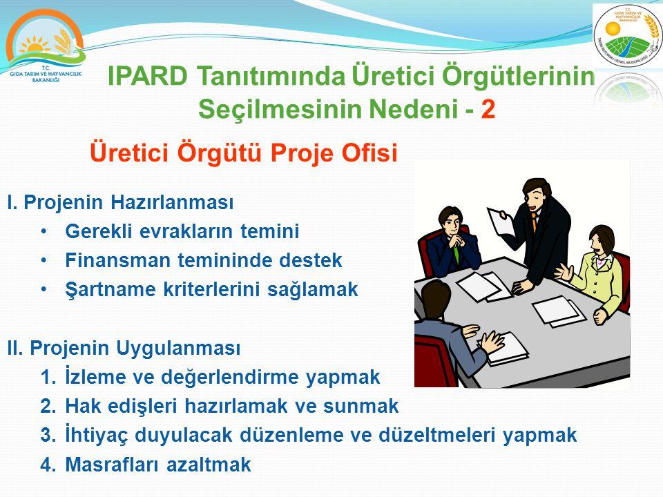 IPARD Tanıtımında Üretici Örgütlerinin Seçilmesinin Nedeni - 2 I.