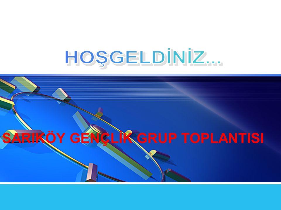 LOGO SARIKÖY GENÇLİK GRUP TOPLANTISI