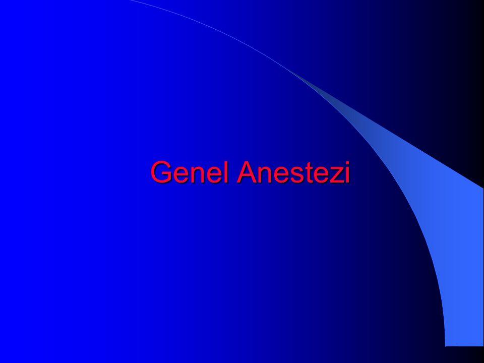 Genel Anestezi