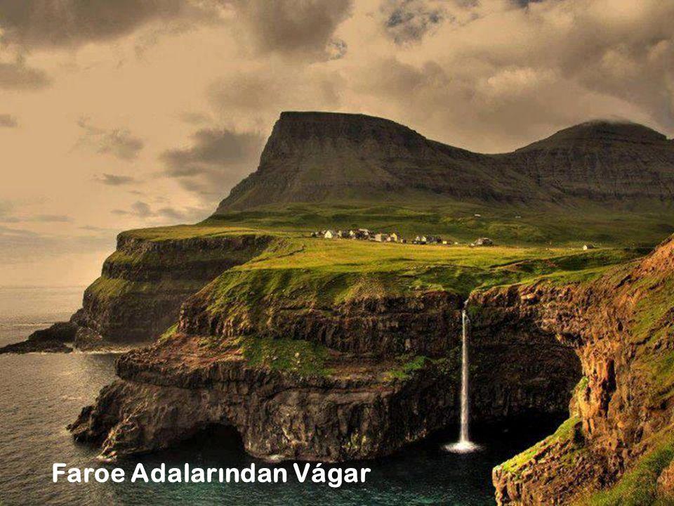 3 Faroe Adalarından Vágar