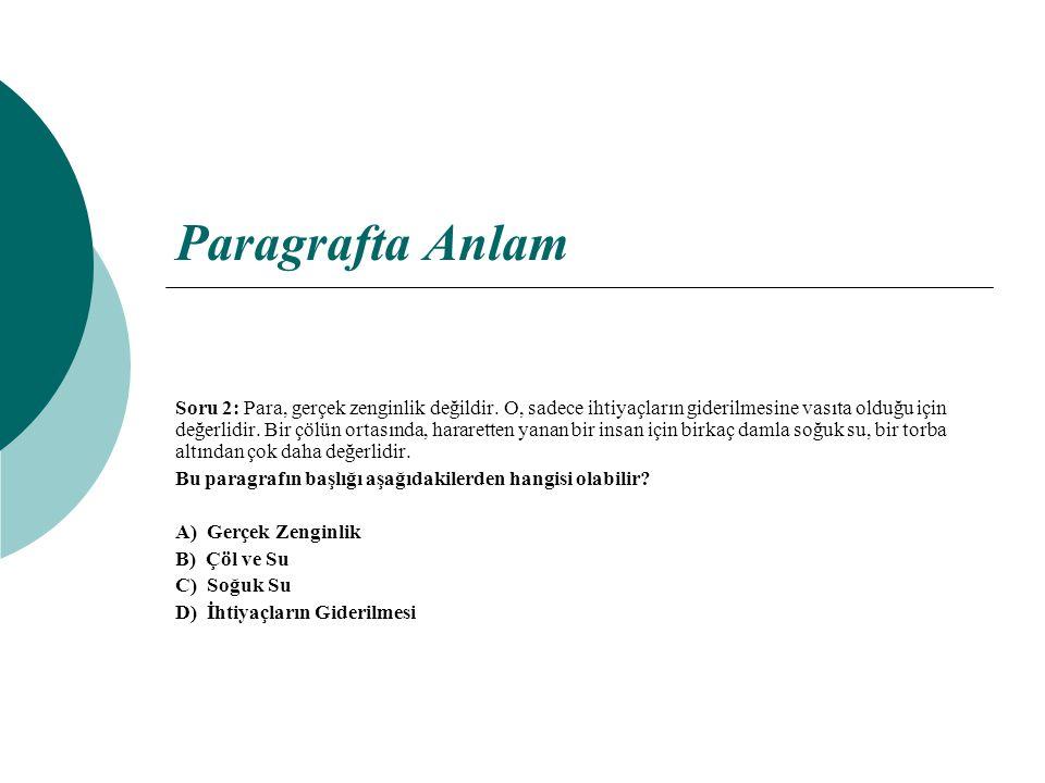 Cevap 7: Parçada duyuları veren ipuçlarını bulalım.