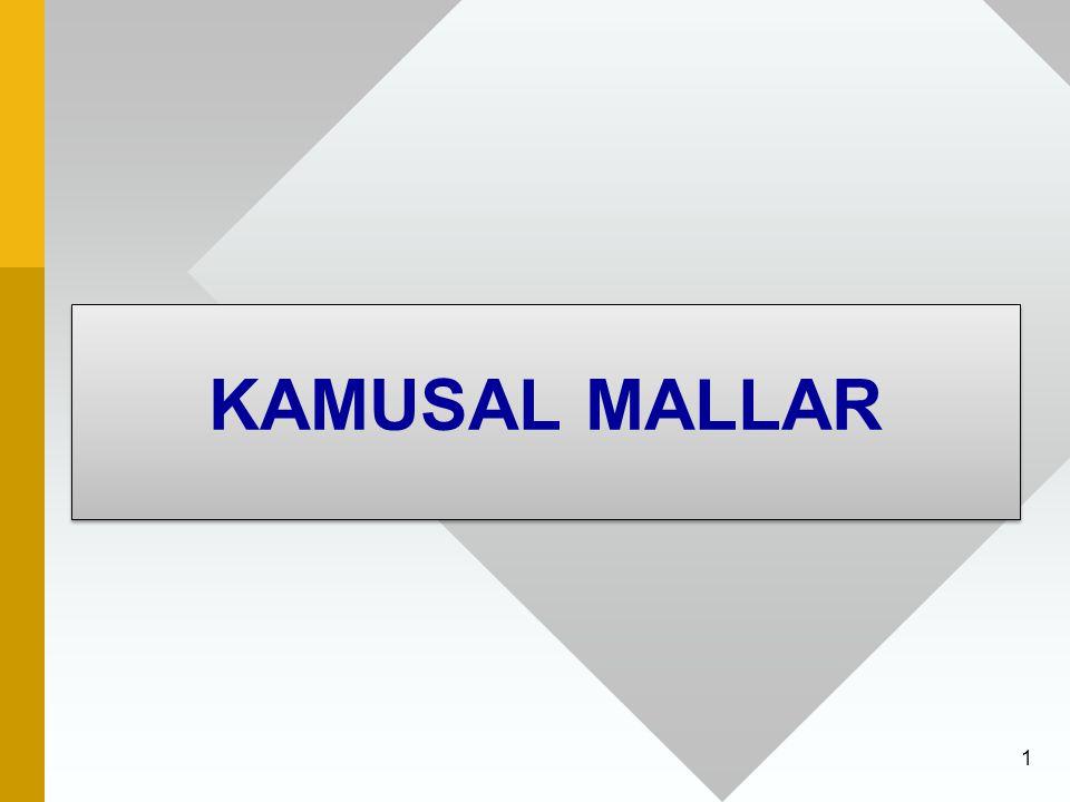 1 KAMUSAL MALLAR