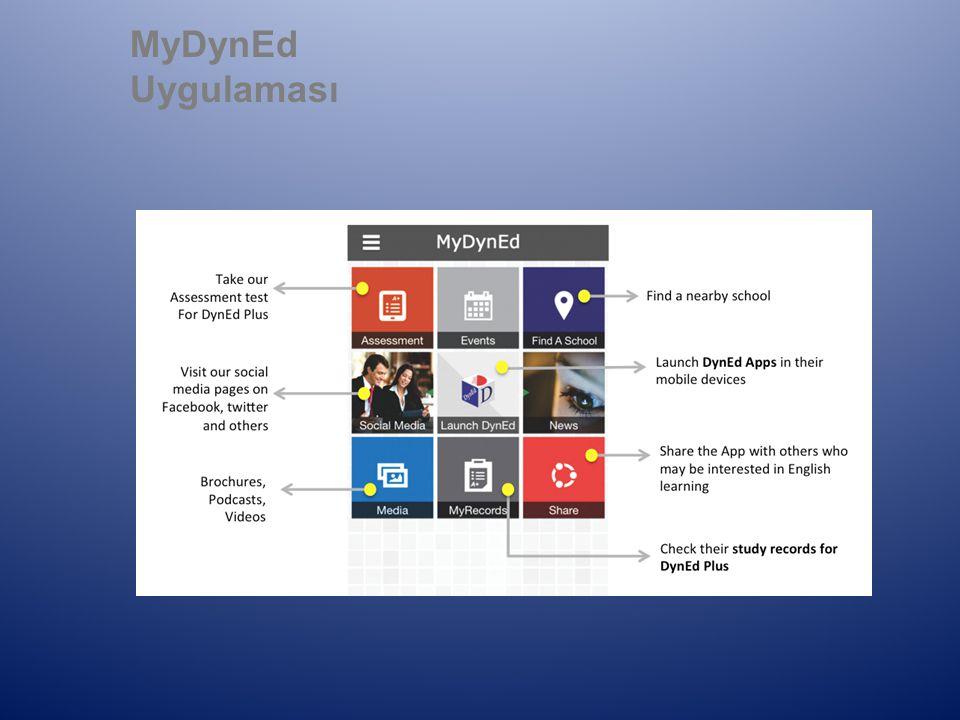 MyDynEd Uygulaması