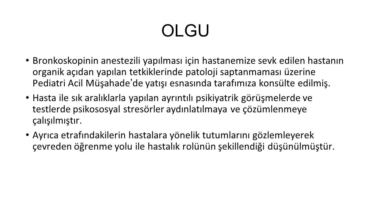 15 KAYNAKLAR 1- Çuhadaroğlu Çetin F., Çocuk ve Ergen Psikiyatrisi Temel Kitabı, 2008, Hekimler Yayın Birliği, Ankara, s: 455-460.