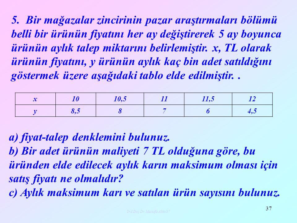Yrd.Doç.Dr.Mustafa Akkol38 38 6.