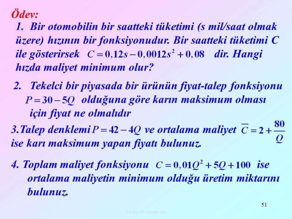 Yrd.Doç. Dr. Mustafa Akkol 52 5.