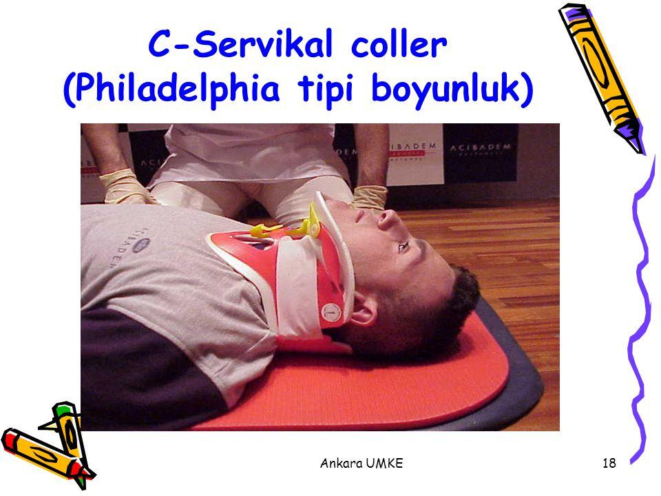 Ankara UMKE18 C-Servikal coller (Philadelphia tipi boyunluk)