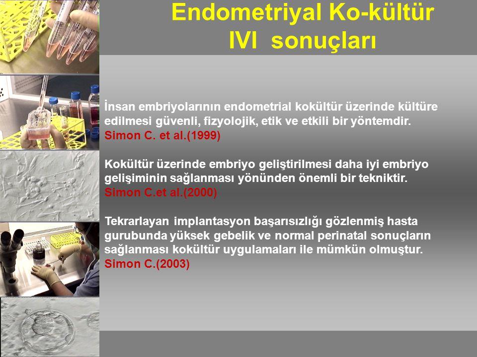 6 Transfer 1Biyopsi 3 2 4 5 Otolog Endometriyal Ko-Kültür Strateji