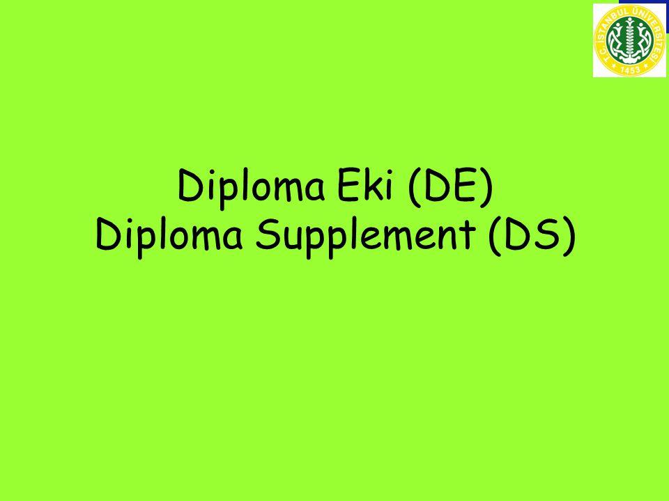 Diploma Eki nedir.