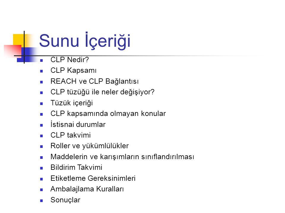 CLP Nedir.