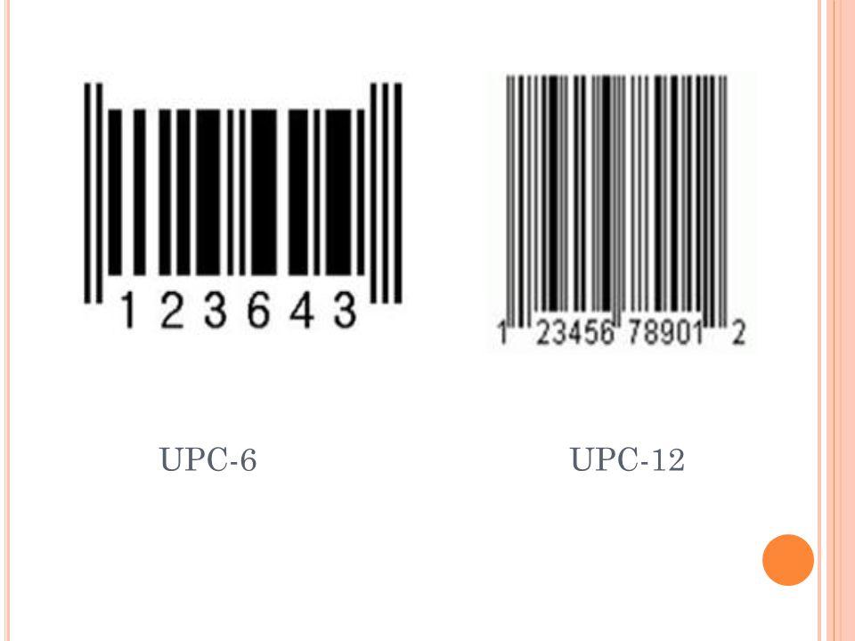 UPC numaralama sistemi ABD ve Kanada da kullanılır. Sistemde esas olarak 10 karakter vardır. Ancak daha fazla karakter kullanılması da mümkündür. Sist
