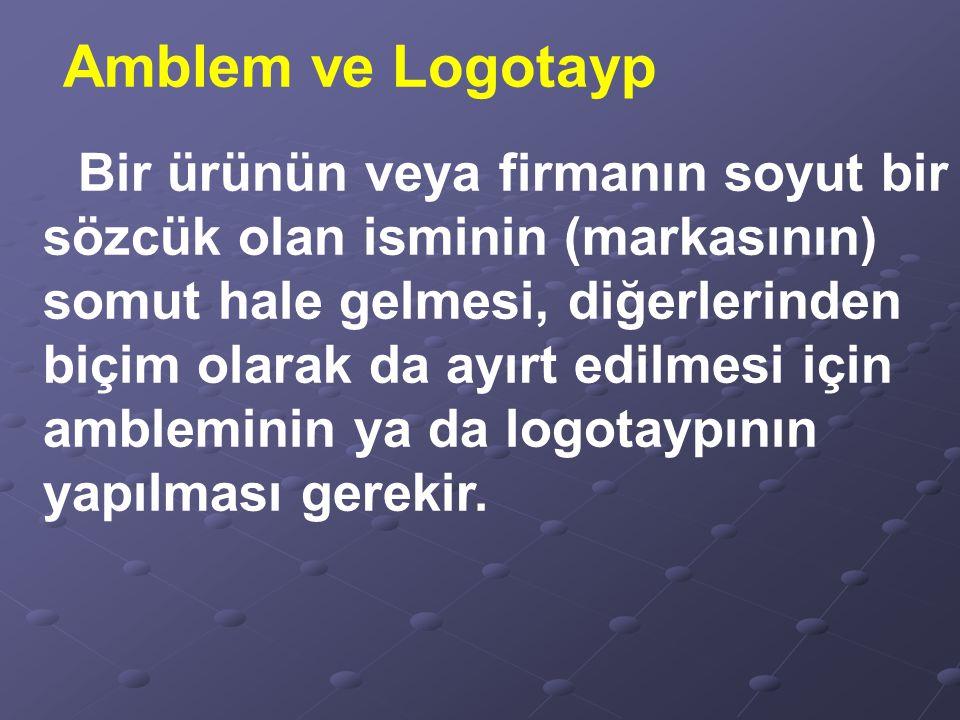 Logolar şirketlerin isimlerinin, profil veya vizyonlarının temsil edildiği resimlerdir.