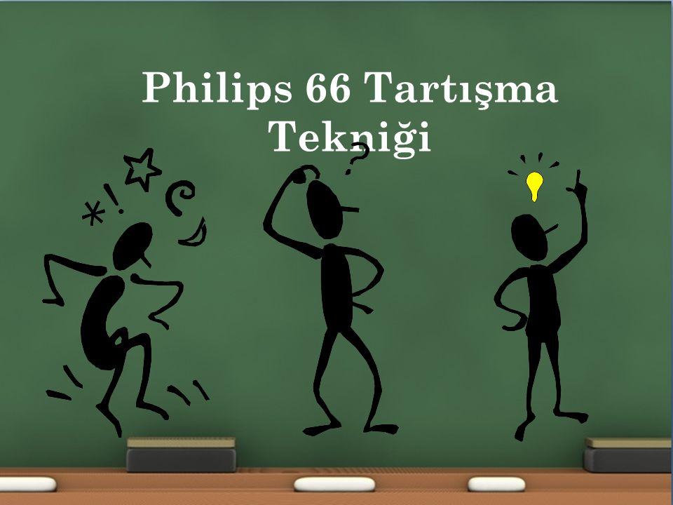 P HILIPS 66 T ARTıŞMA T EKNIĞI (1/6) 1 Philips 66 Tartışma Tekniği