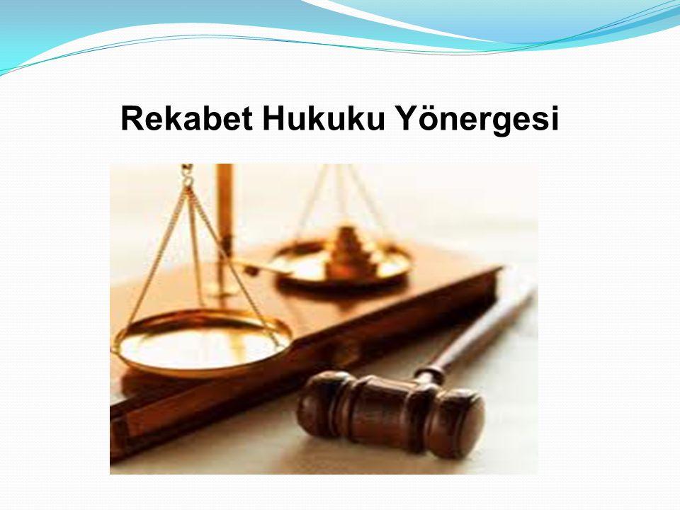 Rekabet  Avrupa Topluluğu Rekabet Hukuku  Kurumun Amacı