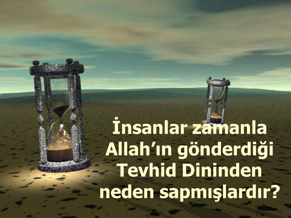 Genel Manada İslam, Yüce Allah'ın, Hz.Adem'den- Hz.