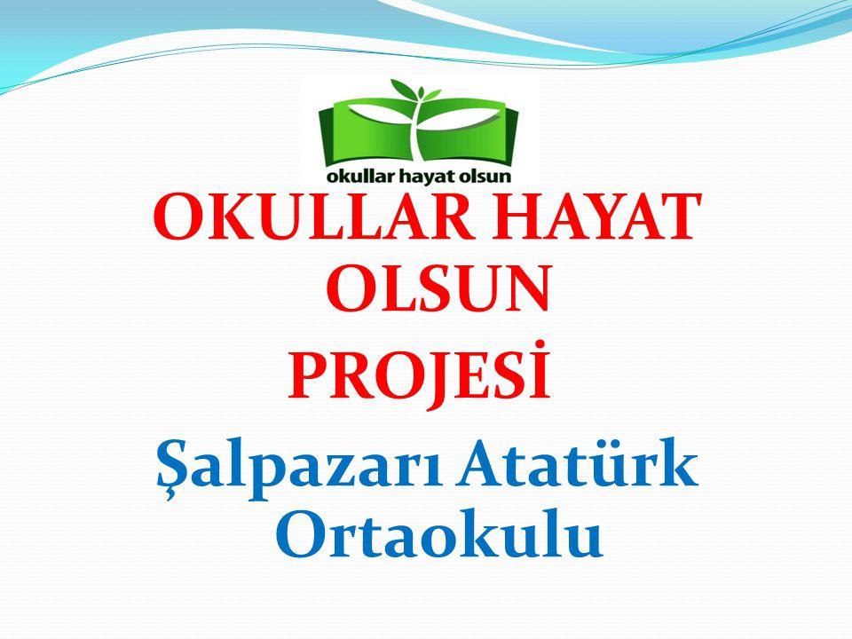 OKULLAR HAYAT OLSUN PROJESİ Şalpazarı Atatürk Ortaokulu