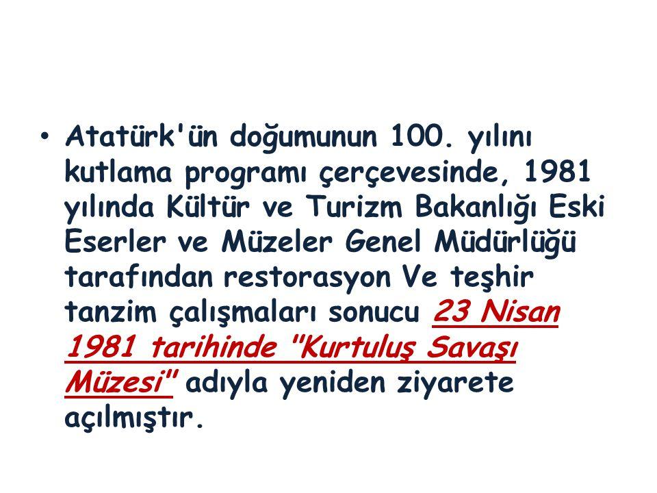Atatürk ün doğumunun 100.