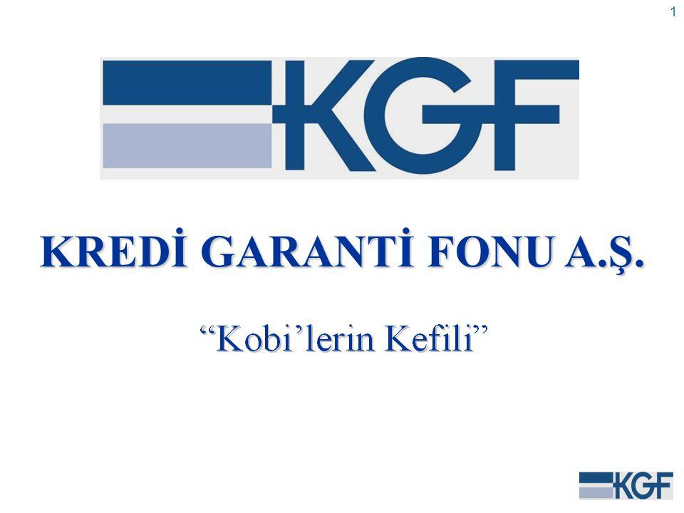 1 KREDİ GARANTİ FONU A.Ş.