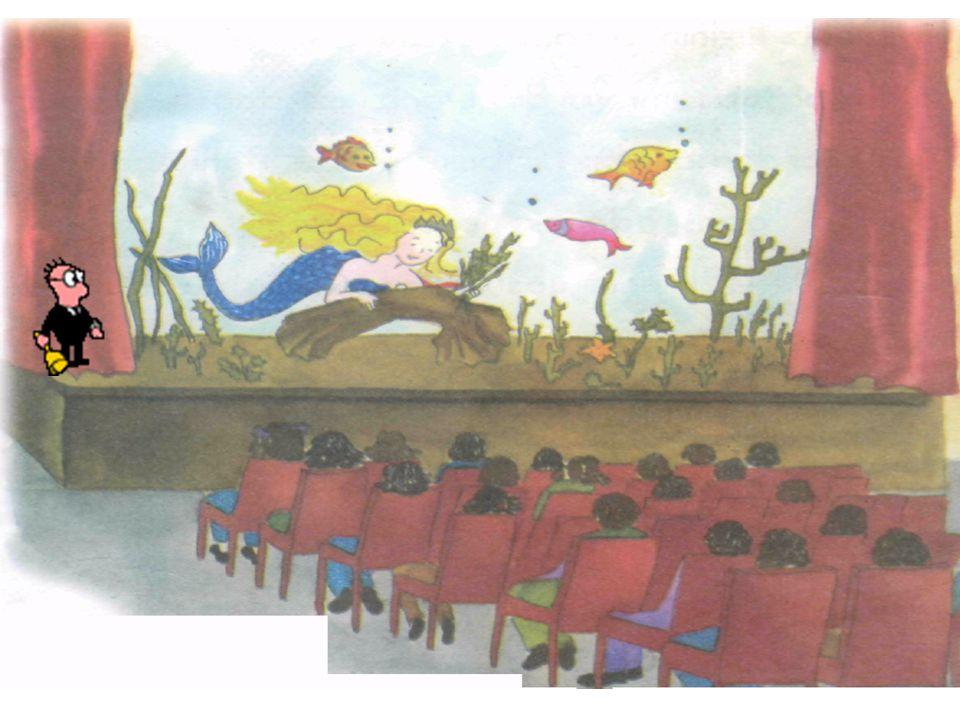 9 DENİZ KIZI OKULDA Burak çok heyecanlıydı. Çok yakında bir tiyatro ekibi gösteri için okullarına gelecekti. Burak günler öncesinden biletini almıştı,