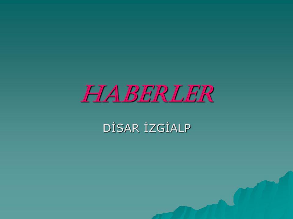 HABERLER DİSAR İZGİALP