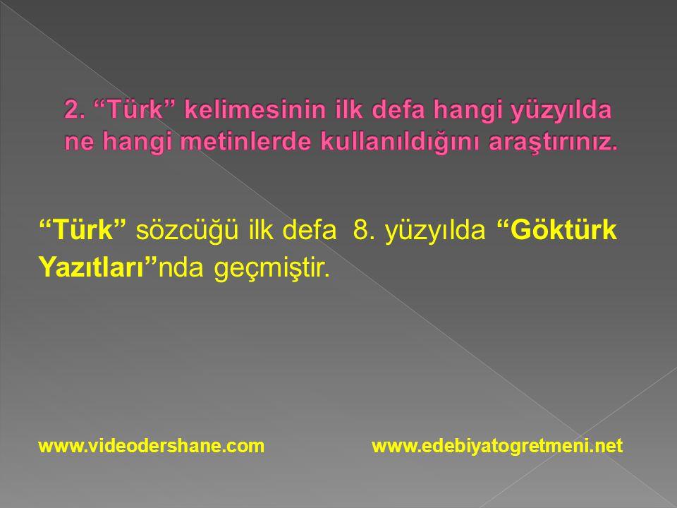 a) Kültürel ve sosyal gelişmeler ve değişmeler b) Savaşlar ve göçler www.videodershane.com www.edebiyatogretmeni.net