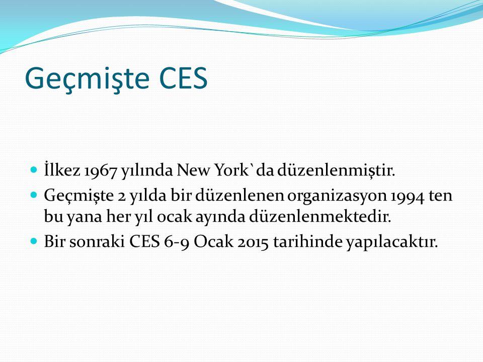 Geçmişte CES İlkez 1967 yılında New York`da düzenlenmiştir.