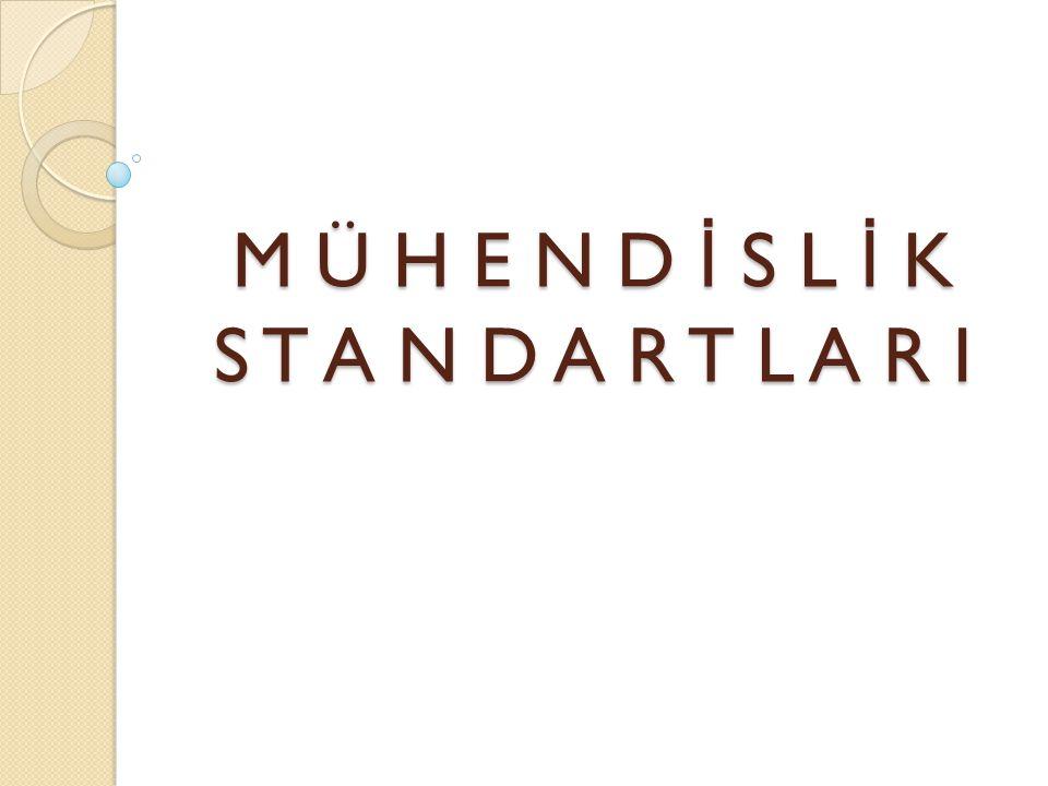 MÜHEND İ SL İ K STANDARTLARI Verimliliğin Ölçümü Ölçüm sonuçlarını karşılaştırmalı olarak yorumlamak daha anlamlıdır.