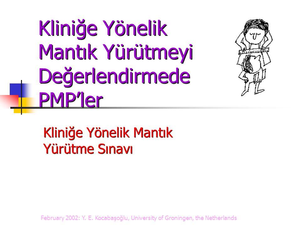 Miller'in Ustalık Piramidi Miller GE.The assessment of clinical skills/competence/performance.