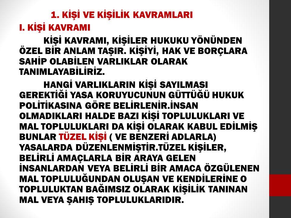 1.ÖLÜM KARİNESİ ÖLÜM KARİNESİ MEDENİ KANUNUN 31.VE 44.