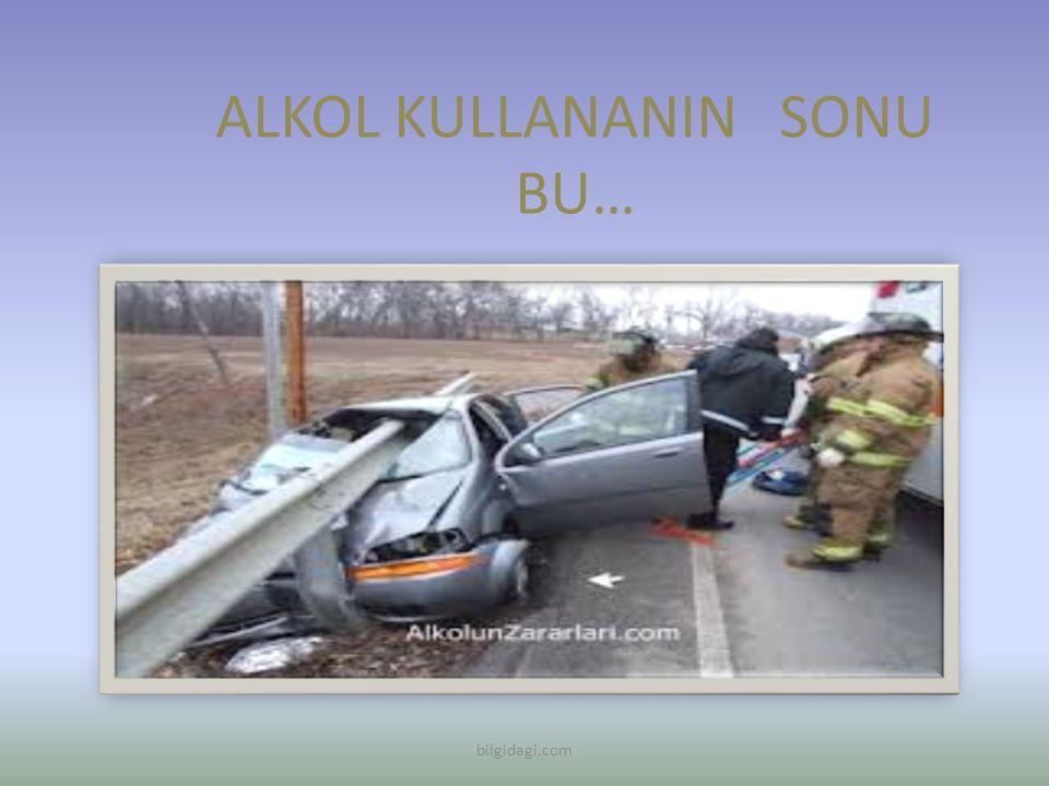 ALKOL KULLANANIN SONU BU… bilgidagi.com